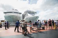 Conmoción por la posible salida de cruceros