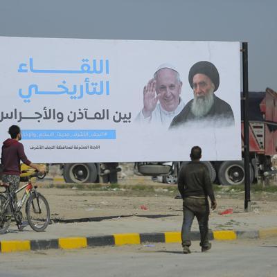 Intensos preparativos previo a reunión entre papa y ayatolá