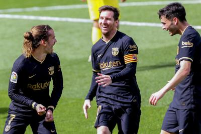 Barcelona se acerca a la cima de la Liga española