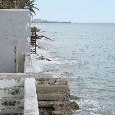 Firmada la certificación de emergencia por erosión costera en Ocean Park