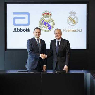 Real Madrid y Abbott se unen para combatir la desnutrición a nivel mundial