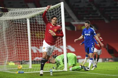 Everton empata al final y golpea aspiraciones del United