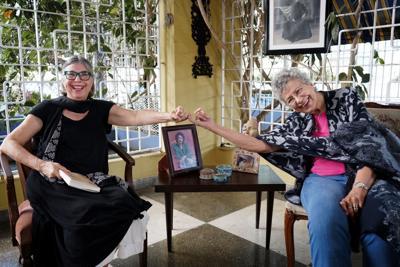 Myrna Casas y su eterna inspiración patria
