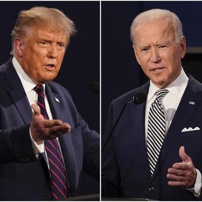 Apagarán micrófonos para evitar interrupciones en debate de Trump y Biden