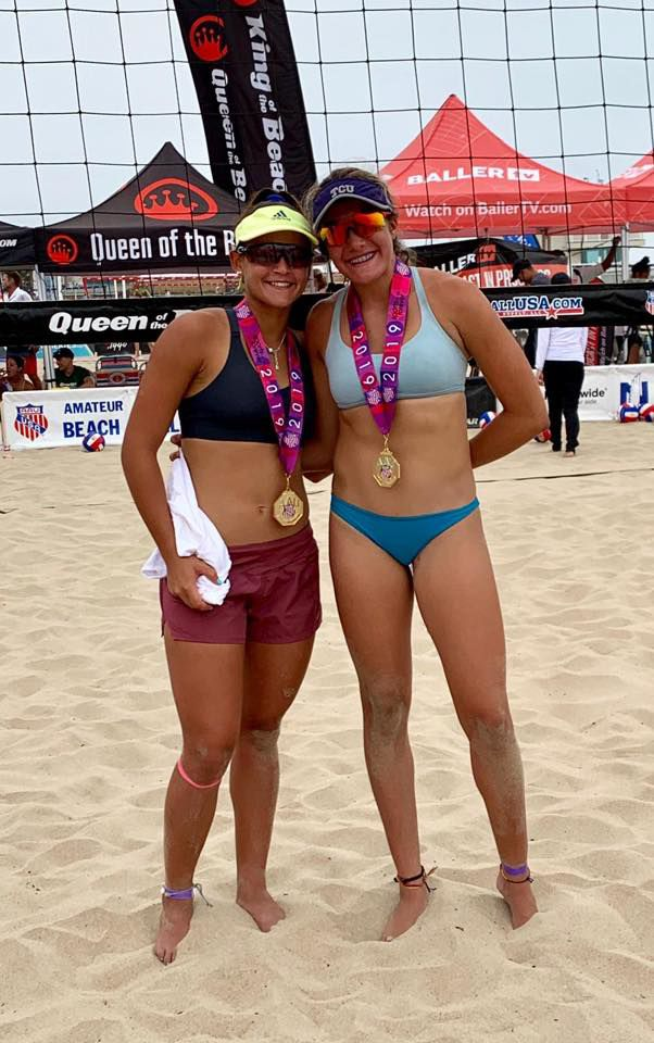 María Gónzalez y Allanis Navas se coronan en campeonato nacional juvenil