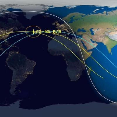 Restos del cohete chino deberían caer al norte del Océano Atlántico