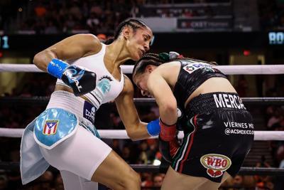 Brilla la boxeadora Amanda Serrano con una victoria por decisión unánime en Cleveland