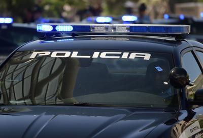 Policía patrulla
