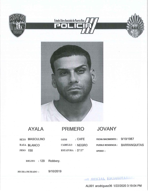 Jovany Ayala Primero