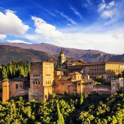 Viaje virtual a la Alhambra de Granada