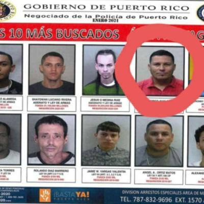 Policía detiene a uno de los criminales más buscados de Mayagüez