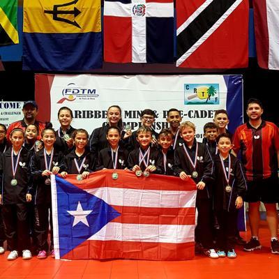 Puerto Rico arrasa en Campeonato del Caribe de tenis de mesa