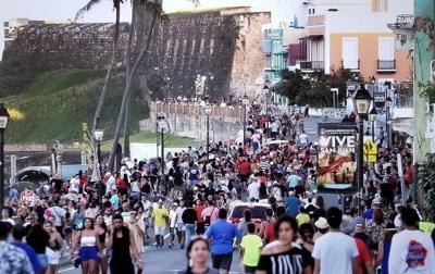 Transcurren en completo orden las Fiestas de la Calle San Sebastián