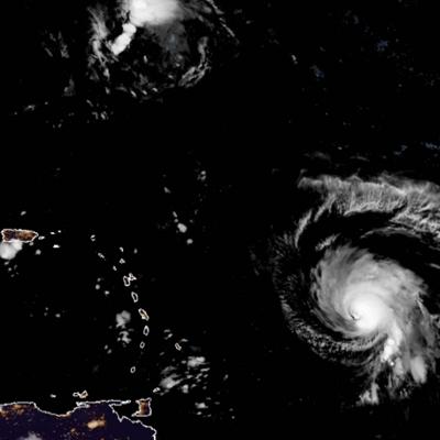 El huracán Sam continuará su paso al noroeste en los próximos días