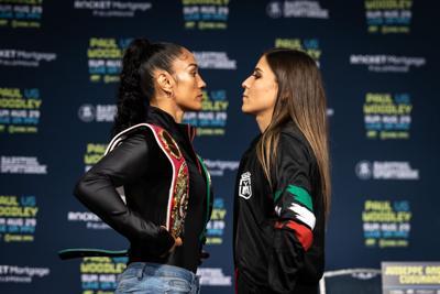Amanda Serrano se las canta a su rival mexicana previo al combate del domingo