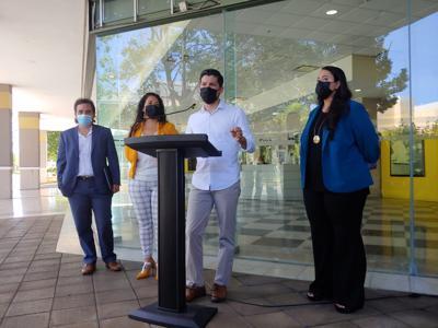 Movimiento Victoria Ciudadana presenta a su nueva comisionada electoral