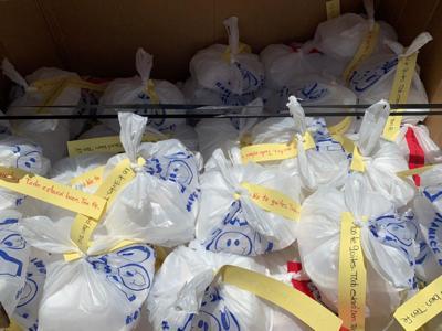 Grupo de amigos se une para llevar comida en San Lorenzo