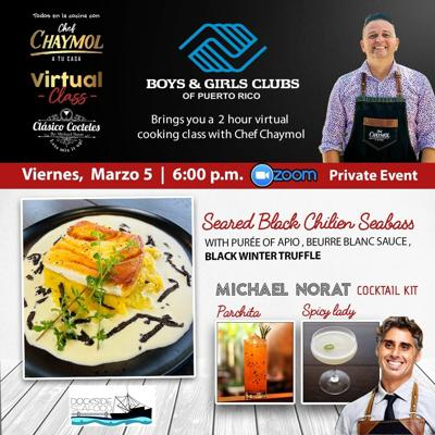 Chef Chaymol se une a evento de Boys & Girls Club de Puerto Rico