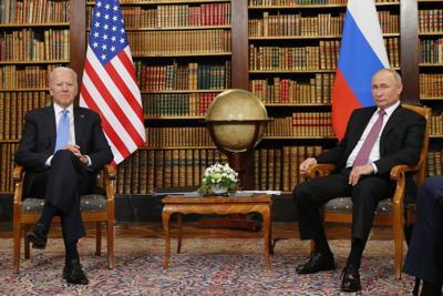Tensiones protagonizan el inicio de la cumbre entre Biden y Putin
