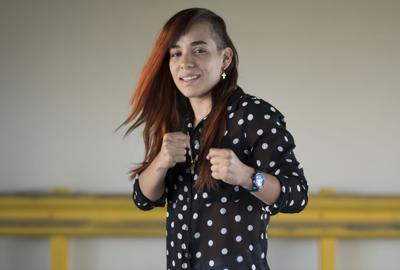 Boxeadora Vivian Velázquez arroja positivo a coronavirus