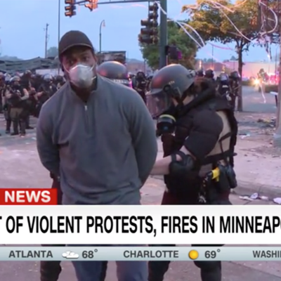 Arrestan corresponsal de CNN en protestas en Minneapolis