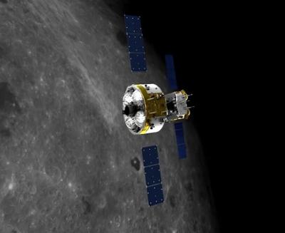 Nave espacial china orbita la Luna