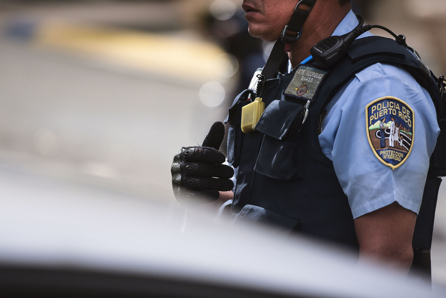 Persecución en Juncos termina con herido de bala