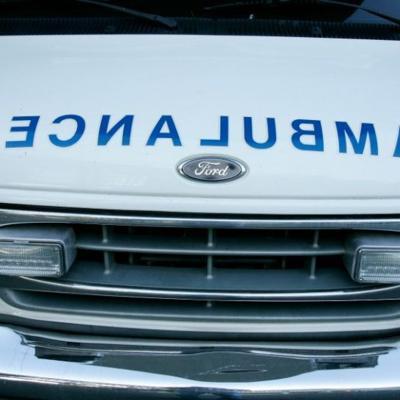 Un conductor choca de frente con un jinete en Corozal