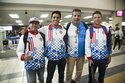 Equipo de Surfing de Puerto Rico que competirá en los Juegos Panamericanos
