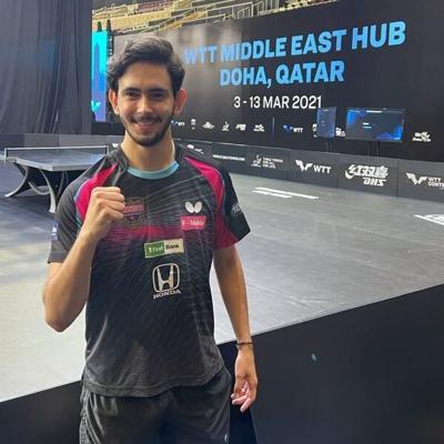 Brian Afanador debuta con victoria en Doha