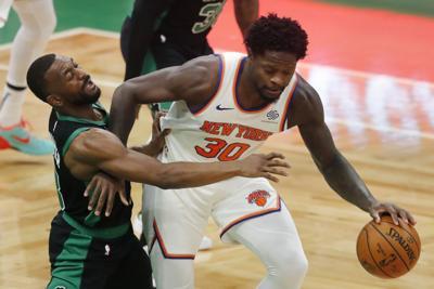 Knicks vencen a Celtics