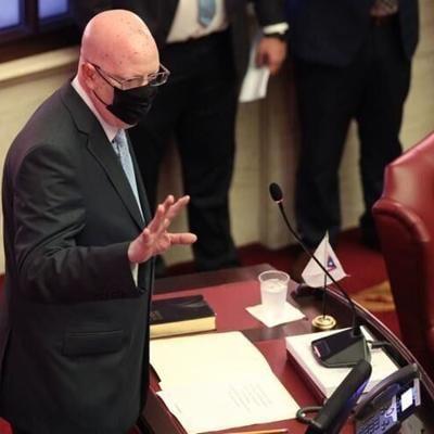 El senador Gregorio Matías: voto decisivo en la aprobación del Proyecto de la Cámara 1003