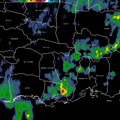 Continúan las lluvias en el suroeste de la Isla