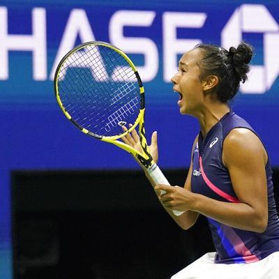 Leylah Fernández estará en la final del US Open