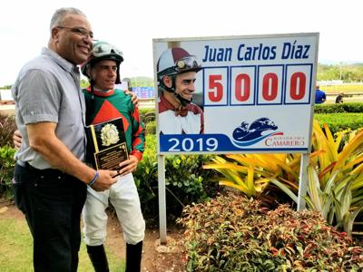 Juan Carlos Díaz llegó a las 5,000 victorias