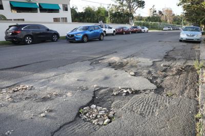Años de deterioro en la Avenida Monte Carlo