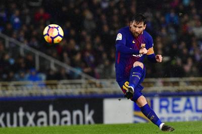 Los mejores 10 goles de Messi con el Barcelona