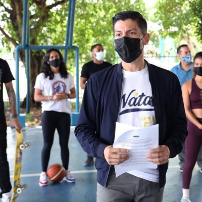 Natal se compromete con impulsar el deporte en San Juan