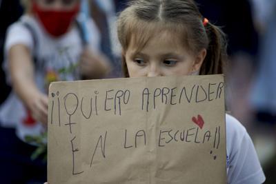 Argentina escuelas coronavirus