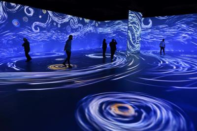 """Immersive Van Gogh"" en Nueva York"