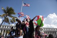 Manifestantes en Capitolio