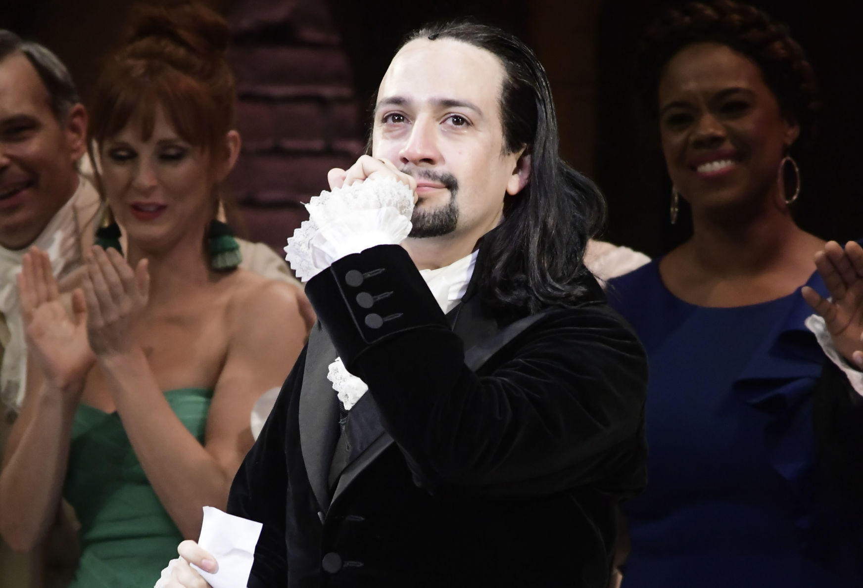 Lin-Manuel reacciona al chat de Telegram
