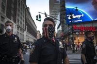 Minneapolis Police Death Protest New York