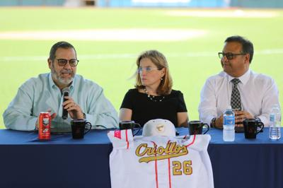 Raúl Rodríguez, Carmen Yulín Cruz Soto y William Miranda Torres