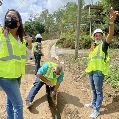 Luego de 30 años sin agua potable, vecinos de Cuevitas en el Barrio Guayabal de Juana Díaz abrirán la pluma