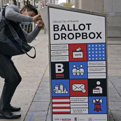 Detienen sospechoso de quemar buzón para votos en Boston