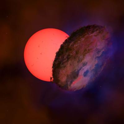 Descubren una estrella gigante que parpadea dentro de la Vía Láctea