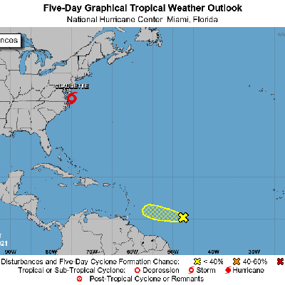 Vigilan una onda tropical con baja probabilidad de desarrollo ciclónico