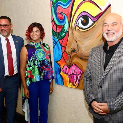 Exhibición de arte en el Capitolio sobre la mujer afroantillana en Puerto Rico