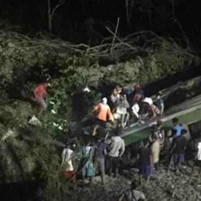 Al menos 15 muertos en un accidente en Filipinas